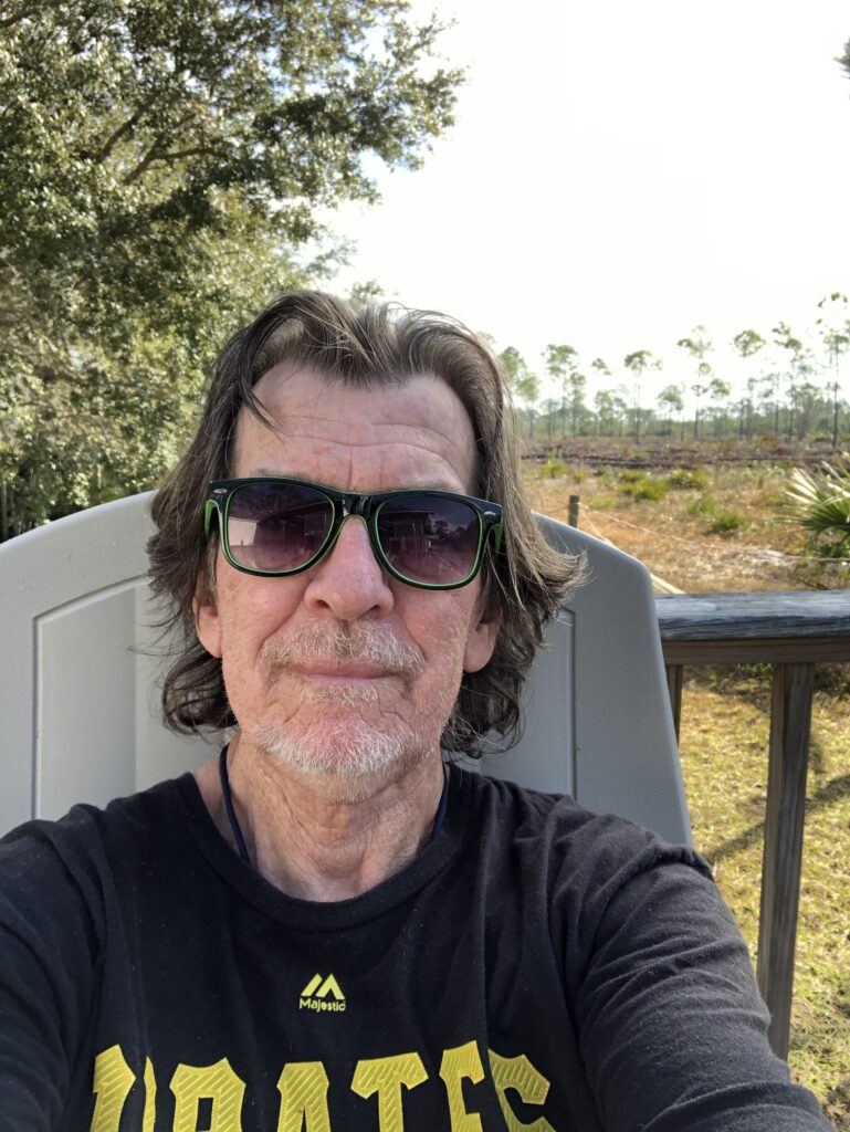 Rick Campbell - author in shades